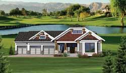 Bungalow Style House Plans Plan: 7-1044