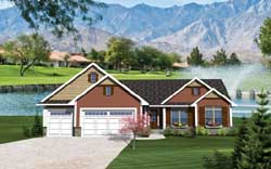 Traditional Style Floor Plans Plan: 7-1046