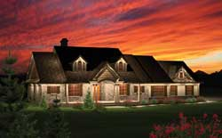 Traditional Style Floor Plans Plan: 7-1049