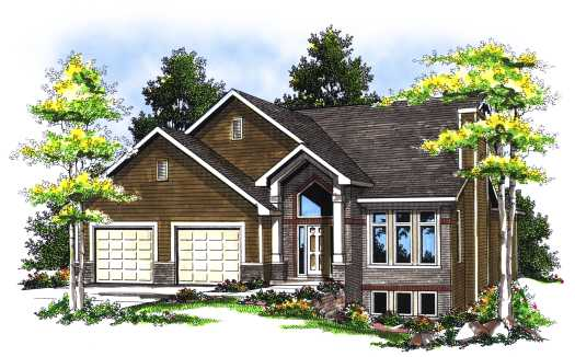 Contemporary Style House Plans Plan: 7-105