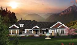 Traditional Style Floor Plans Plan: 7-1050