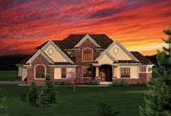 Traditional Style Floor Plans 7-1059