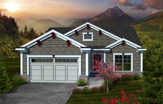 Craftsman Style House Plans Plan: 7-1067