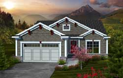 Craftsman Style House Plans Plan: 7-1067