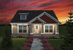 Craftsman Style House Plans Plan: 7-1089