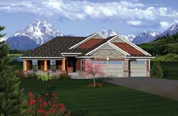 Traditional Style House Plans Plan: 7-1101