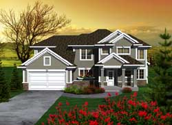 Traditional Style Floor Plans Plan: 7-1111