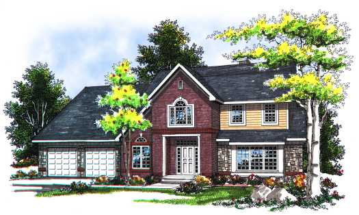 Traditional Style House Plans Plan: 7-112