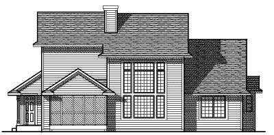 Rear Elevation Plan: 7-113