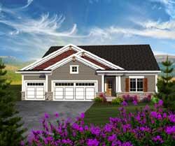 Craftsman Style House Plans Plan: 7-1136