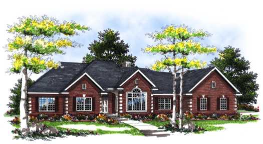 Southern Style Floor Plans Plan: 7-114
