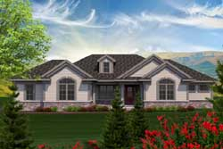 Traditional Style Home Design Plan: 7-1140