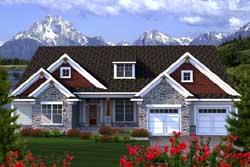 Craftsman Style House Plans Plan: 7-1141