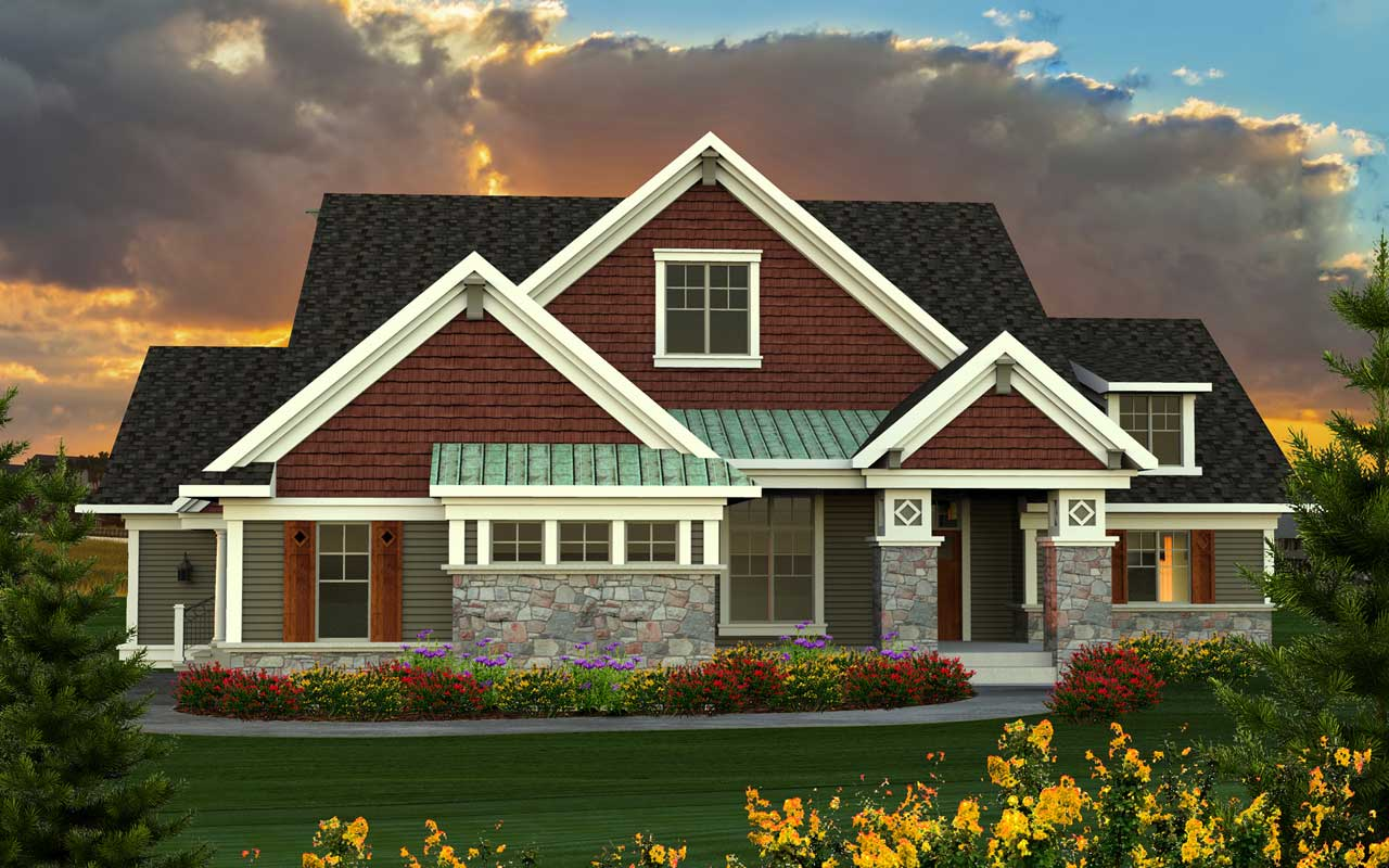Bungalow Style House Plans Plan: 7-1146