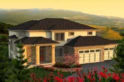 Prairie Style House Plans Plan: 7-1152