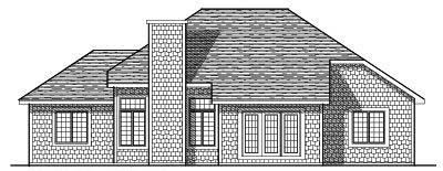 Rear Elevation Plan: 7-116