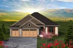 Craftsman Style Floor Plans Plan: 7-1162