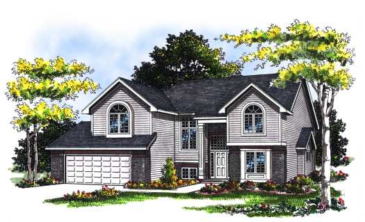 Traditional Style Floor Plans Plan: 7-117