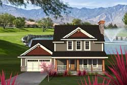 Country Style House Plans Plan: 7-1174