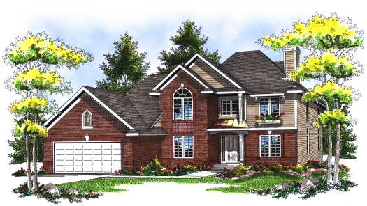 Traditional Style House Plans Plan: 7-118