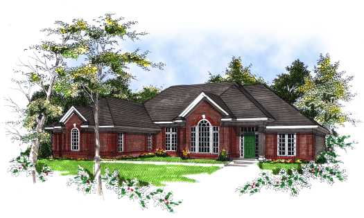 Southern Style House Plans Plan: 7-119
