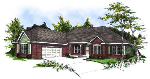 Traditional Style Floor Plans Plan: 7-120