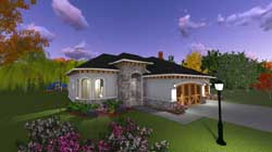 European Style Floor Plans Plan: 7-1213