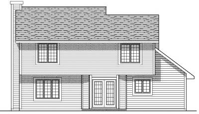 Rear Elevations Plan:7-125