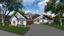 Ranch Style Floor Plans Plan: 7-1255