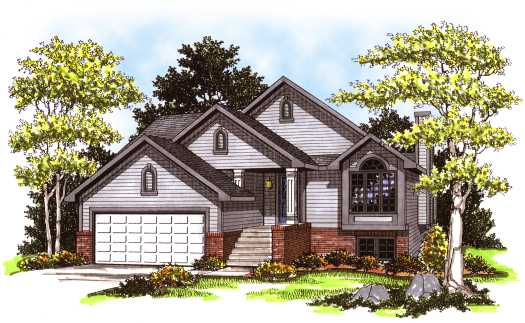 Traditional Style House Plans Plan: 7-126