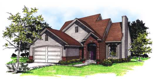 Traditional Style Floor Plans Plan: 7-127