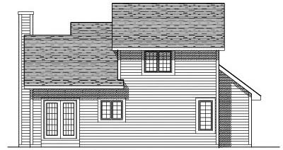Rear Elevation Plan: 7-127