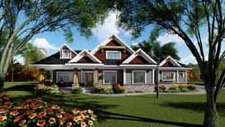 Craftsman Style House Plans Plan: 7-1279