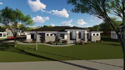 Modern Style House Plans Plan: 7-1283