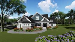 Craftsman Style Floor Plans Plan: 7-1286