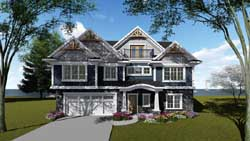 Craftsman Style House Plans Plan: 7-1296