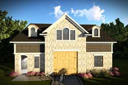 Traditional Style Home Design Plan: 7-1299