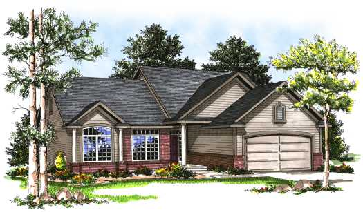 Traditional Style Floor Plans Plan: 7-130