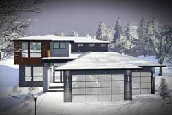 Modern Style Floor Plans Plan: 7-1314