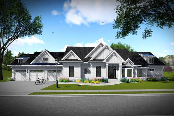 Ranch Style House Plans Plan: 7-1315