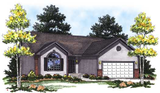 Traditional Style Floor Plans Plan: 7-132