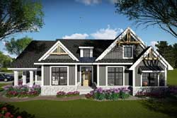 Craftsman Style House Plans Plan: 7-1335