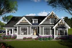 Craftsman Style Floor Plans Plan: 7-1335