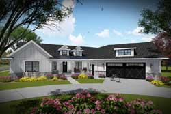 Modern-Farmhouse Style Floor Plans Plan: 7-1337