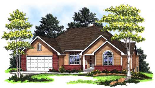 Traditional Style Floor Plans Plan: 7-134