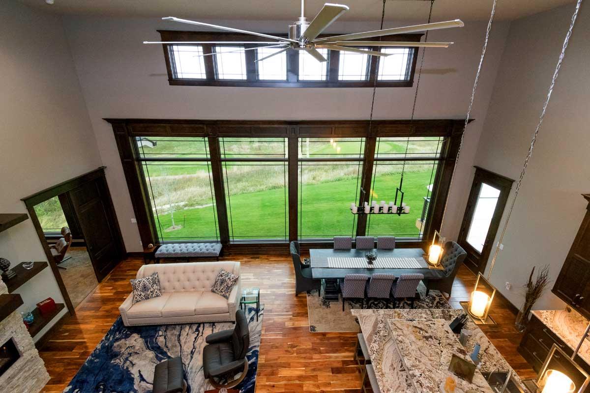 Prairie Style Floor Plans