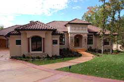 Tuscan Style House Plans Plan: 7-1349