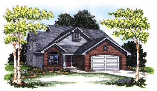 Traditional Style Floor Plans 7-137