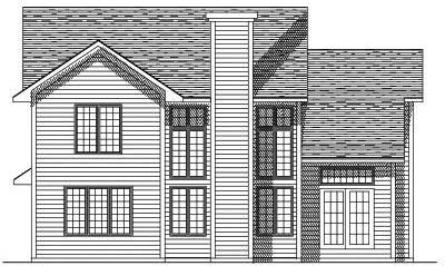 Rear Elevation Plan: 7-137