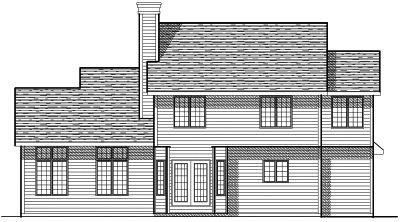 Rear Elevation Plan: 7-139
